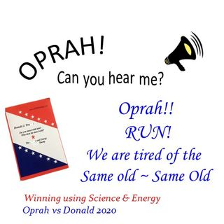 Oprah - Can You Hear Me - 17 - Oprah Run - We're Tired of the Same Old Same Old
