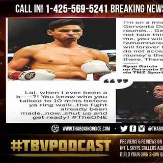 ☎️Breaking News:🦍Gervonta Davis👀REVEALS Fight with🤴🏻Ryan Garcia is DONE DEAL❗️