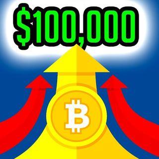 Perché il BITCOIN NON SI FERMERÀ a 100.000$