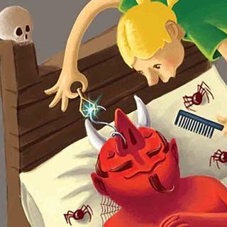 LOS TRES PELOS DE ORO DEL DIABLO 👺 Audio Cuento Infantil para dormir 😈 Hermanos Grimm