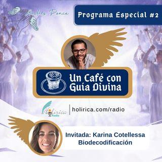 Un café con guía divina 2 - Andrés Ponce- Biodescodificación