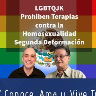 Episodio 308: 🏳🌈 LGBVTQJK 🤫 Prohíben terapias para la homosexualidad🚫 Segunda deformación😲Dr Juan Bosco Abascal 👏