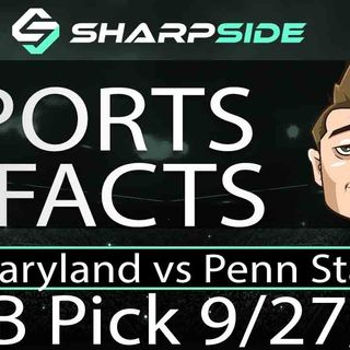 FREE Friday Night College Football Pick - Penn St. vs Maryland