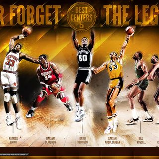 Survive and Advance W/Mike Goodpaster and Steve Risley:The Top 10 Centers in NBA History