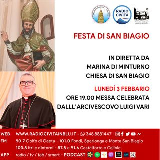 Messa San Biagio 2020 - Omelia Mons. Vari