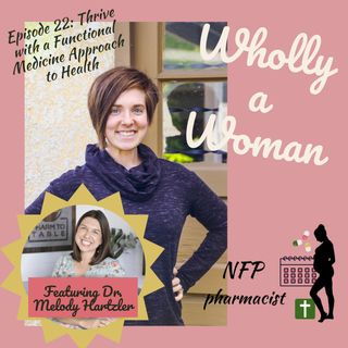 Episode 22: Thrive with a Functional Medicine Approach to Health - Interview with Dr. Melody Hartzler