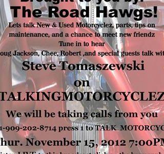 TalkingMotorCycleZ LIVE at WoodStock MotorcycleZ