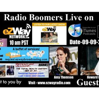 Radio Boomers Live S8 EP 52 Feat. Amy Thomson & Howard Rice