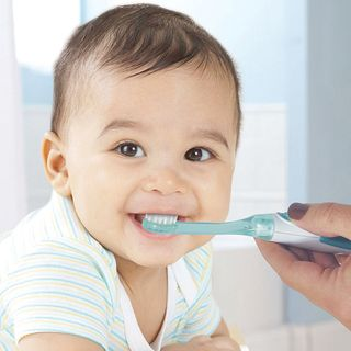 Baby Toothbrush Using and Teeth cleaning Advice
