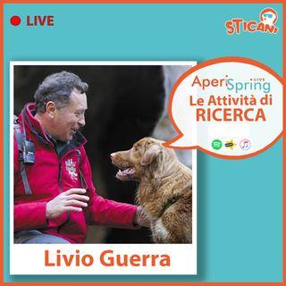 Intervista a LIVIO GUERRA - Le Attività di RICERCA | AperiSpringLIVE