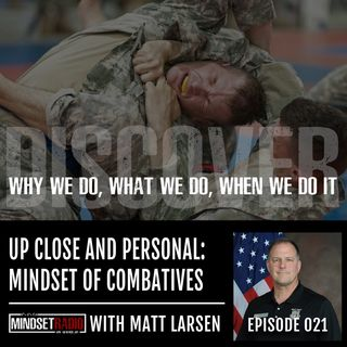 Up close and personal with the Father of Modern Combatives... Matt Larsen