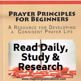 E8- Guiding Principle 2- Read Daily