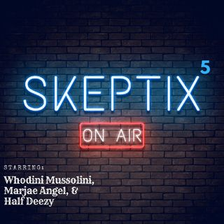 Skeptix EP5: - Crystals & Energy w/Marjae Angel.