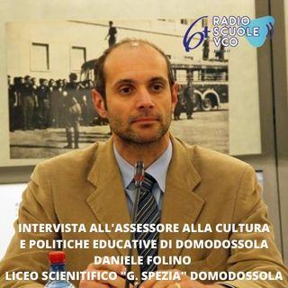 Intervista all'assessore cultura e politiche educative di Domodossola Daniele Folino