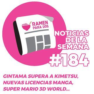 184. Gintama desbanca a Kimetsu no Yaiba, nuevas licencias manga en España