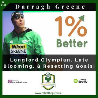 Darragh Greene – Longford Olympian, Late Blooming, & Restting Goals – EP159!