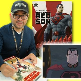 #317: Sam Liu – director of Superman: Red Son!