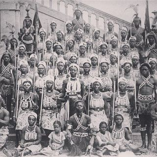 CALMIE AFRICAN DIARY- DAHOMEY WOMEN WARRIORS OF WEST AFRICA