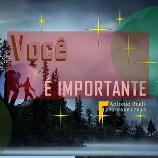 Você é importante, acredite.