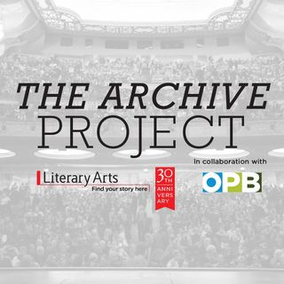 Michael Pollan - Literary Arts: The Archive Project - October 12, 2016