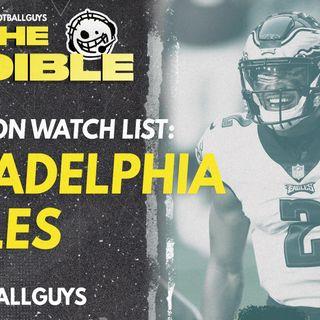 2021 Fantasy Football - Philadelphia Eagles Preseason Watch List