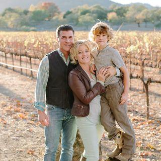 Michael and Eileen Chiarello of Chiarello Vineyards & Stephen Gertman of Ascendant Spirits