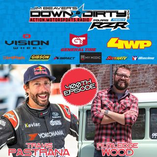 #400 - Travis Pastrana & Rutledge Wood On Air to Celebrate the Milestone!