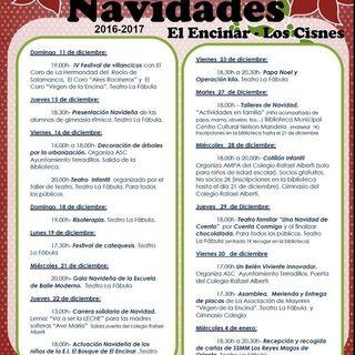 PROGRAMA. NAVIDAD 2016/2017 EL ENCINAR-LOS CISNES