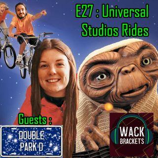 E33  - Universal Studios Rides w/Double Park'd : I'm a Motorbike!