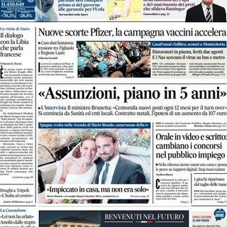 BUONGIORNO FORMALBA del 7 aprile 2021 con Marco Giustinelli