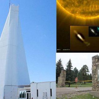 Sunspot Solar Observatory, Alien Fleet Invading? Deep State Disinfo