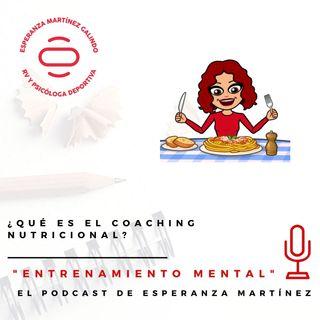 ¿Qué es el coaching nutricional?