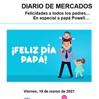 DIARIO DE MERCADOS Viernes 19 Marzo