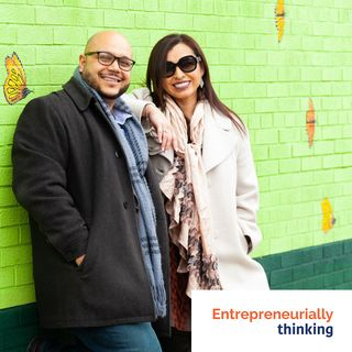 ETHINKSTL-113-Autentico Podcast | Hosts Gabriela Ramírez-Arellano and Junior Lara