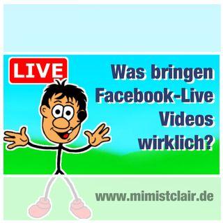 FB001: Was bringen Facebook-Lives Videos wirklich