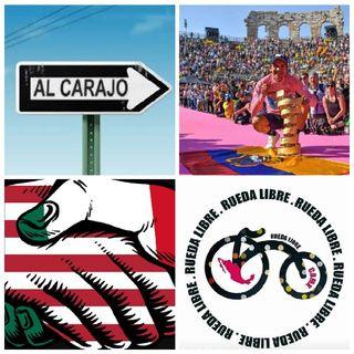 """Acuerdo EU - MEX, """"Vete al Carajo"""", Giro de Italia/Carapaz, Roland Garros/ Nadal, NBA Finales, Rueda Libre 2° Aniversario."""