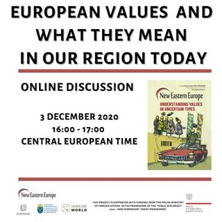 European values and what they mean in the region today