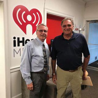 Don Atkinson & Rob Casaletta discuss the Veterans Memorial Park going in Whitehouse