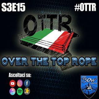 Over The Top Rope S3E15: Carlo Pedersoli Jr.