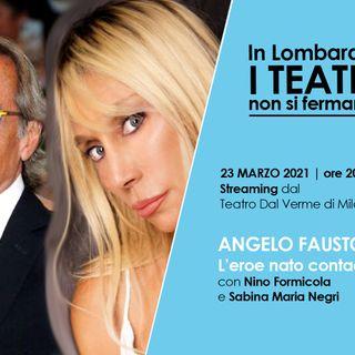Coppi a teatro con Formicola e Negri