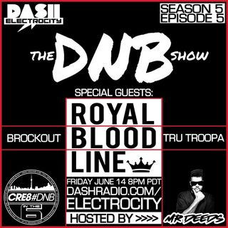 the DNB show Episode 47 (guest mix Royal Bloodline)