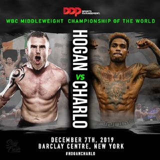 Big WBC World Middleweight TitleFight Jermall Charlo-Dennis Hogan December 7th On PBC!In NY!!