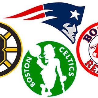 The Best Boston Sports Podcast:Patriots Draft talk, Celtics advance, plus Bruins Talk