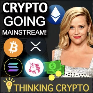 Solana Goes To The Moon - Reese Witherspoon Ethereum - SEC Investigates Uniswap & Ripple XRP