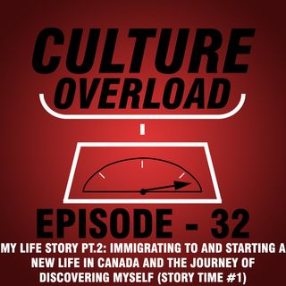 EP 32 - My Life Story PT.2: Immigrating to and Starting a New Life in Canada and the Journey of Discovering Myself (Story Time #1)