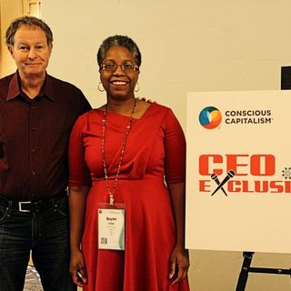 CEO Exclusive Broadcasting Live from the Conscious Capitalism 2019 Conference with John Mackey