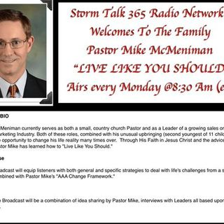 """""""Live Like You Should"""" with Pastor Mike - My Testiomony"""