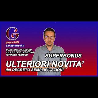 Ultime Novità Superbonus 110 dalla bozza del Decreto Semplificazioni del 28 maggio