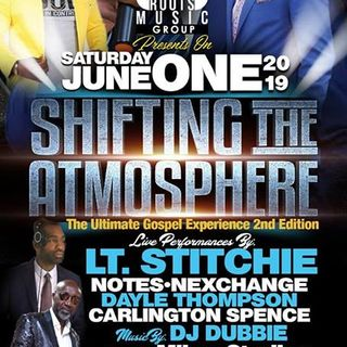 SHIFTING THE ATMOSPHERE 2019 - ISLAND ROOTS MUSIC GROUP