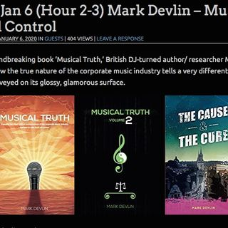 Mark Devlin on Midnight In The Desert radio show, Jan 2020